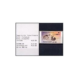 40.2. FINLANDIA (2003). Ciervo - Amiel. ATM nuevo + rec.