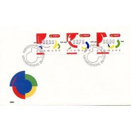 DINAMARCA (1995). Emblema...