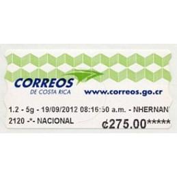 COSTA RICA (2012). Logotipo...