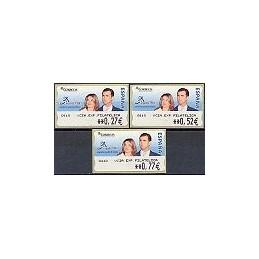 ESPAÑA. 108. ESPAÑA 2004 - 0410 + texto. Serie 3 val.
