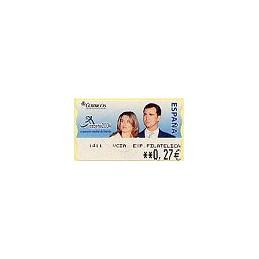 ESPAÑA. 108. ESPAÑA 2004 - 1411 + texto. ATM nuevo (0,27)