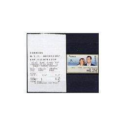 ESPAÑA. 108. ESPAÑA 2004 - 1411 + texto. ATM nuevo (0,27) + rec.