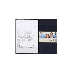 ESPAÑA. 108. ESPAÑA 2004 - 0634 + texto. ATM nuevo (0,27) + rec.