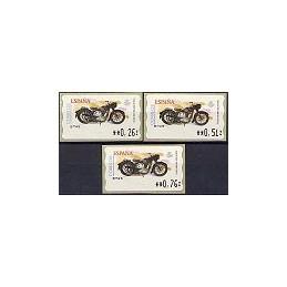ESPAÑA. 86. Sanglas 3501. 5E - Z. Serie 3 val.