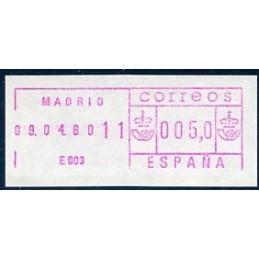 SPAIN (1979). Frama SG 115...
