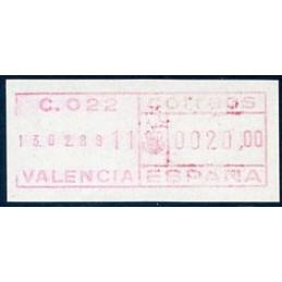 SPAIN (1980). Frama SG 115...