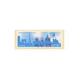 FRANCIA (1999). Philexfrance 99 - FRF-EUR. ATM nuevo
