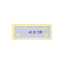 FRANCIA (2002). 2- Aviones papel - Térmico. ATM nuevo