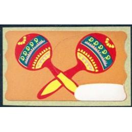 CUBA (1998). Maracas. Label...
