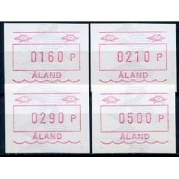 ALAND (1990). Post emblem...