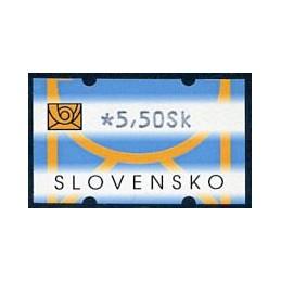 SLOVAKIA (2002). Post logo...