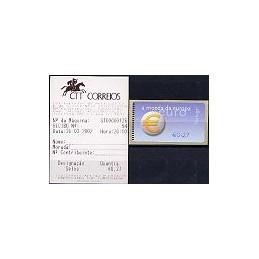 PORTUGAL (2002). Euro, a moeda - NewVision. ATM nuevo + rec.