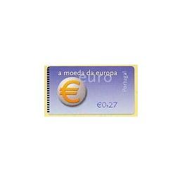 PORTUGAL (2002). Euro, a moeda - NewVision. ATM nuevo