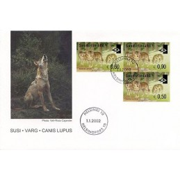 FINLAND (2002). Wolf (Canis...