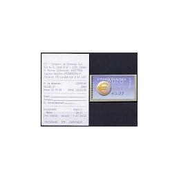 PORTUGAL (2002). Euro, a moeda - SMD. ATM nuevo (0,27) + rec.
