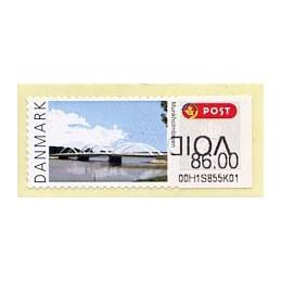 DINAMARCA (2008). Puentes Dinamarca (2.3). Etiqueta (VOID) - Munkholmbroen