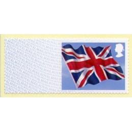 REINO UNIDO (2013). Union flag (Bandera del Reino Unido) - MA13.  Etiqueta en blanco