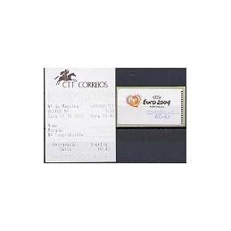 PORTUGAL (2003). Euro 2004 - NewVision. C. AZUL. ATM nuevo + rec