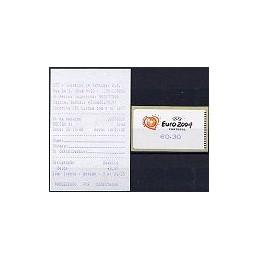 PORTUGAL (2003). Euro 2004 - SMD. ATM nuevo + rec.