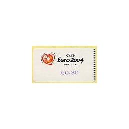PORTUGAL (2003). Euro 2004 - SMD. ATM nuevo