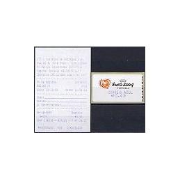 PORTUGAL (2003). Euro 2004 - SMD. C. AZUL. ATM nuevo + rec.