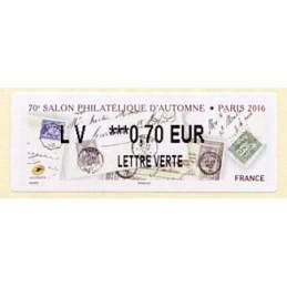 FRANCE (2016). 70e Salon...