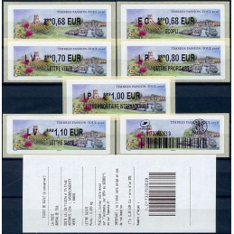 FRANCE (2016). TIMBRES...