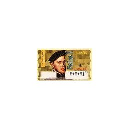 ESPAÑA. 28. Felipe II. PTS-6E. ATM nuevo (1 PTS)