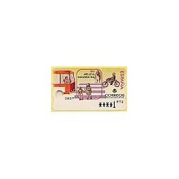ESPAÑA. 30. 1999. Año educación vial. PTS-5E. ATM nuevo (1 PTS)