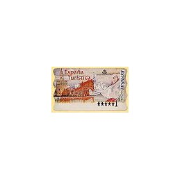 ESPAÑA. 36. España Turística. PTS-6E. ATM nuevo (1 PTS)