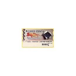 ESPAÑA. 37. España 2000. PTS-5E. ATM nuevo (1 PTS)