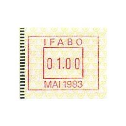 AUSTRIA (1983). Post emblem...