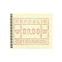 AUSTRIA (1988). Post emblem...