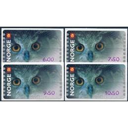 NORWAY (2002). Eagle owl...