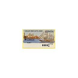ESPAÑA. 42. Gran Regata 2000. PTS-5E. ATM nuevo (1 PTS)