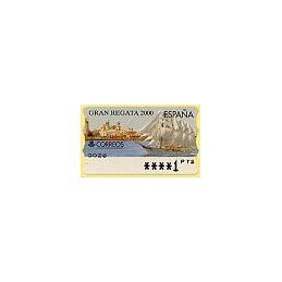 ESPAÑA. 42. Gran Regata 2000. PTS-5A. ATM nuevo (1 PTS)