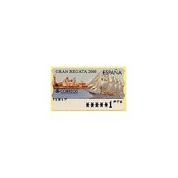 ESPAÑA. 42. Gran Regata 2000. PTS-6A. ATM nuevo (1 PTS)