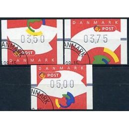 DENMARK (1998). Post emblem...