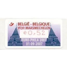BELGIUM (2007). EURO-PHILA...