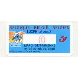 BELGIUM (2008). LUXPHILA...