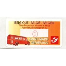 BELGIUM (2010). Postal...