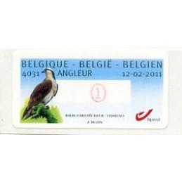 BÉLGICA (2011). Aguila pescadora - Angleur. ATM nuevo (1)