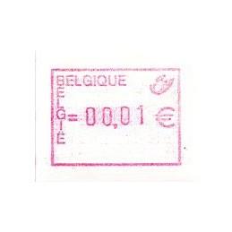 BELGIUM (2002). Post emblem...