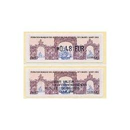 FRANCIA (2005). 78 Congress FFAP. ATM + recibo