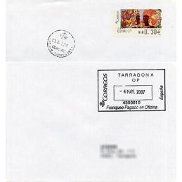 SPAIN (2007). Postage paid...