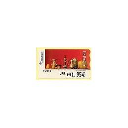 ESPAÑA. 109. Red Life (2). Sammer Gallery. LF-5E. ATM (URG 1,95)