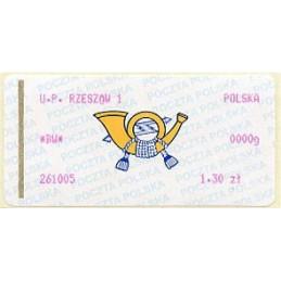 POLAND (2005). Post emblem...