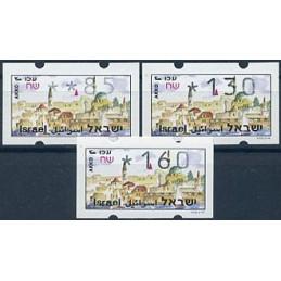 ISRAEL (1994). Turismo - Akko. Serie 3 valores (xx,85)