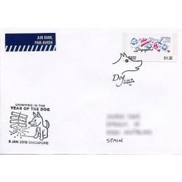SINGAPORE (2018). Postal...