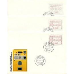LUXEMBURGO (1983). Frama (1) - P 2504. Sobres primer día (serie)